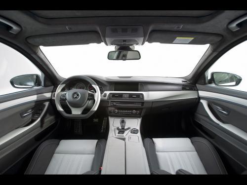 عکس و والپیپر ماشین بی ام و سفید 2012 Hamann BMW