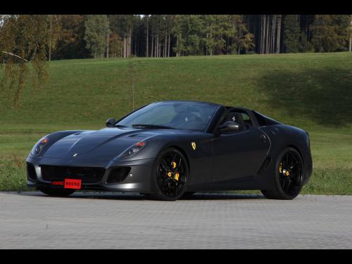 عکس و والپیپر ماشین فراری نقره ای خفن Ferrari
