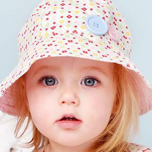 عکس های دختر بچه ها با کلاه-6 عکس های دختر با کلاه