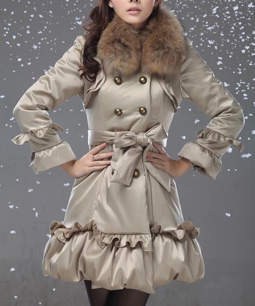 عکس های پالتوهای زنانه-مد لباس زمستانی 3عکس