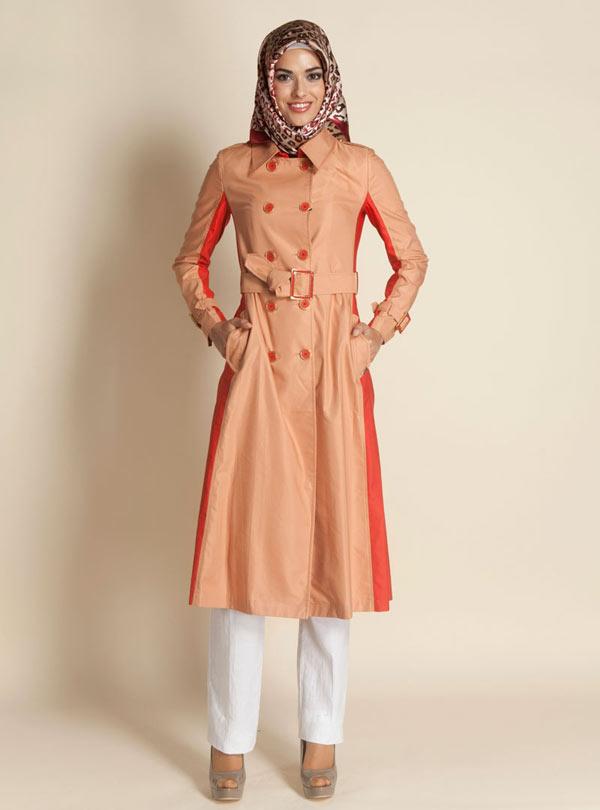 مدل های لباس های اسلامی-مانتو های بلند و کوتاه