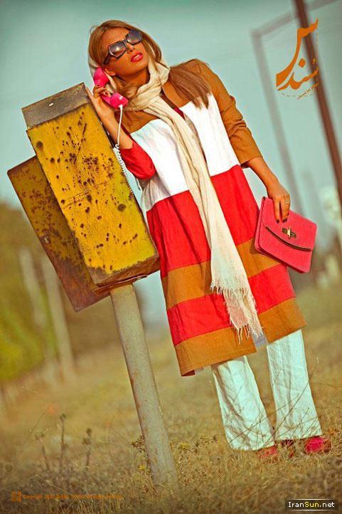 مد مانتو های جدید و جوانانه با طرح و رنگ های قشنگ