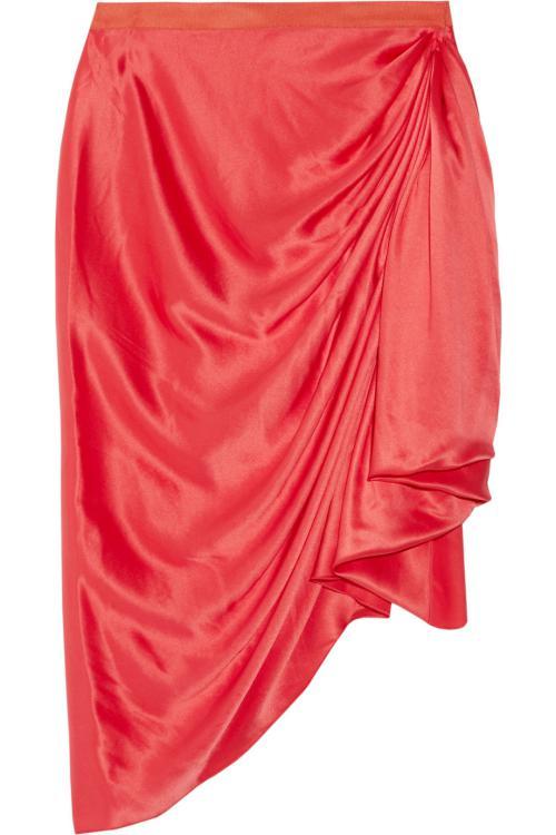 مد و عکس دامن کوتاه قرمز رنگ قشنگ