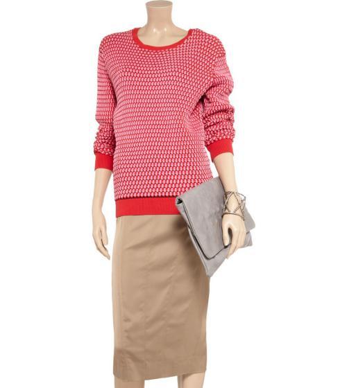عکس دامن های زنانه کرم رنگ قشنگ