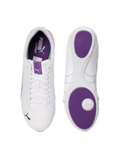 عکس کفش اسپرت دخترانه مارکدار سفید-پوما جدید