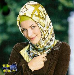 عکس مدل بستن روسری خانوم های محجبه و زیبا