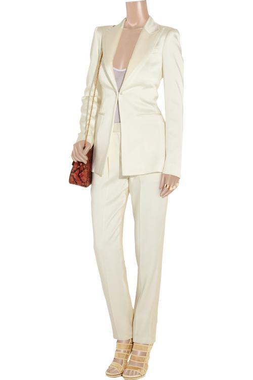 گالری عکس شلوارهای زنانه روشن-سفید و کرم رنگ
