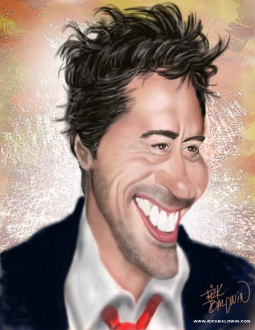 رابرت داونی جونیور robert downey jr-عکس کاریکاتور بازیگران