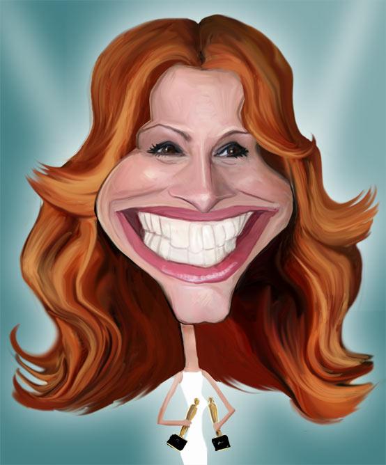 جولیا رابرتز julia roberts-عکس و کاریکاتور