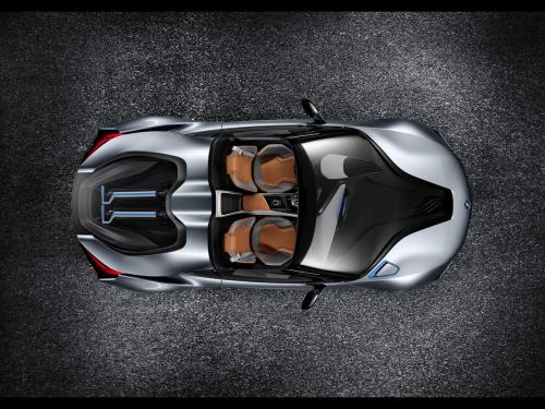 عکس و والپیپر ماشین باحال BMW i8 Concept Spyder