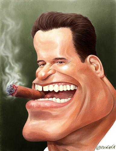 عکس های خفن از آرنولد شوارزنگر-کاریکاتور arnold schwarzenegger