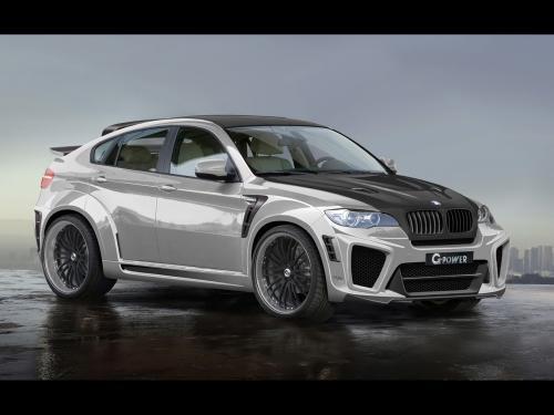 عکس و والپیپر ماشین بی ام و شاسی بلند خاکستری جدید BMW