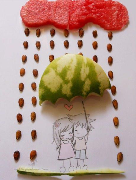 عکس عاشقانه ی باران