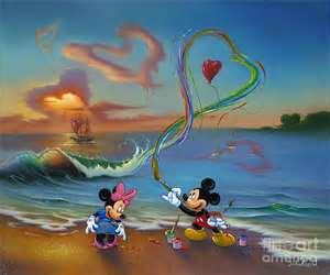 عکس عاشقانه نقاشی