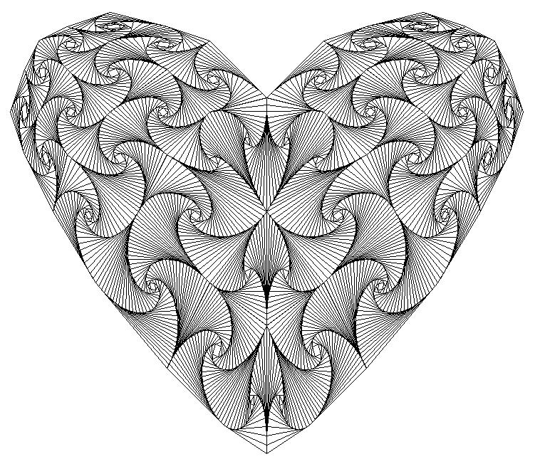 عکس عاشقانه طراحی با مداد