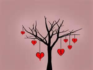 عکس عاشقانه درخت
