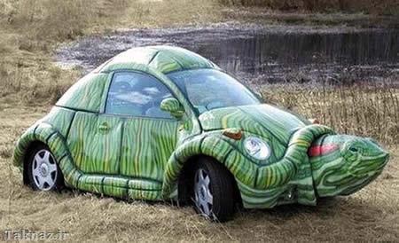 عکس خنده دار ماشین جدید