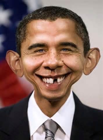 عکس بامزه اوباما