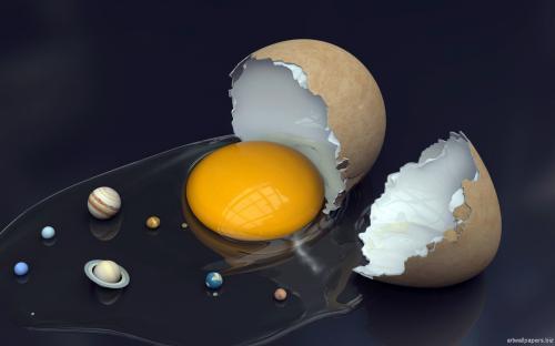 عکس منظومه شمسی-بامزه