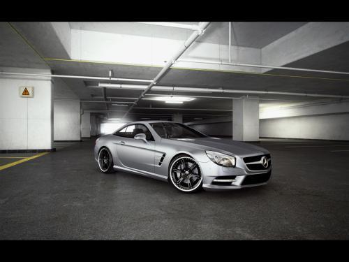 عکس و والپیپر ماشین مرسدس بنز نقره ای Mercedes-Benz