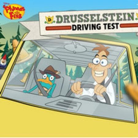 دانلود  بازی کارتونی آزمون رانندگی