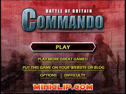 دانلود بازی فلش آنلاین رایگان مبارزه کماندو در انگلیس