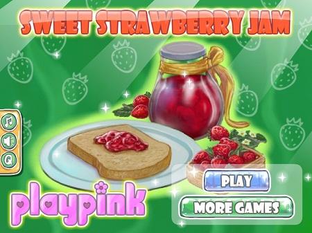 بازی آنلاین دخترانه آشپزی متفاوت درست کردن کیک توت فرنگی