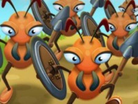 دانلود  بازی مورچه های رزمنده - بازی آنلاین