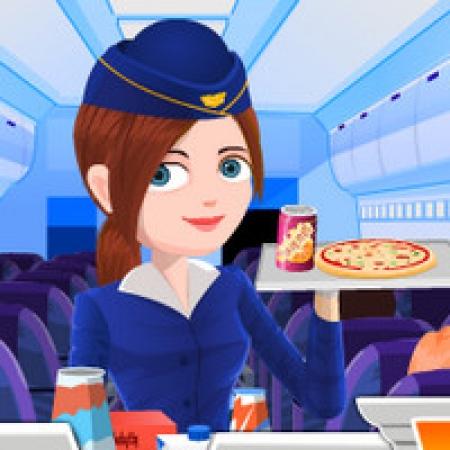 دانلود  بازی مهماندار هواپیما - بازی آنلاین