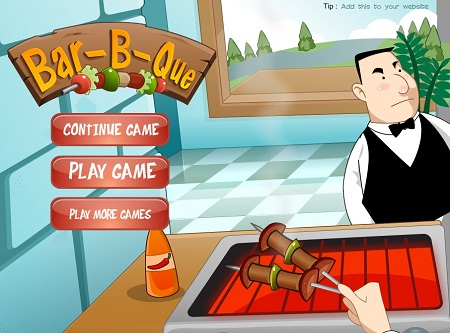 بازی آنلاین مدیریت رستوران و مدیریت باربی کیو مرحله ای شهری متفاوت