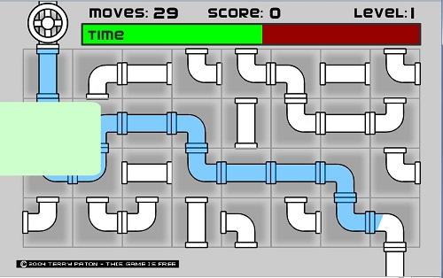دانلود رایگان بازی فلش آنلاین کم حجم-فکری مسیر لوله آب