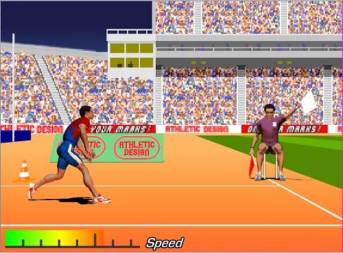 دانلود بازی فلش آنلاین ورزشی پرتاب نیزه