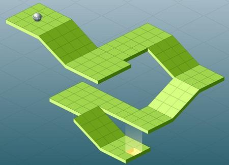 بازی آنلاین کنترل توپ-راهیابی مسیر توپ گردان Gure Ball برای دانلود