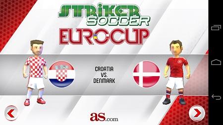 دانلود بازی موبایل اندروید فوتبال فانتزی 2012 Striker Soccer Euro