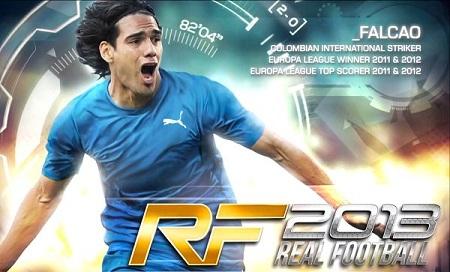 دانلود بازی موبایل اندروید فوتبال واقعی 2013 Real Soccer