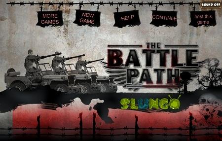 بازی فلش آنلاین اکشن با کیفیت بالا- مسیر جنگ The Battle Path