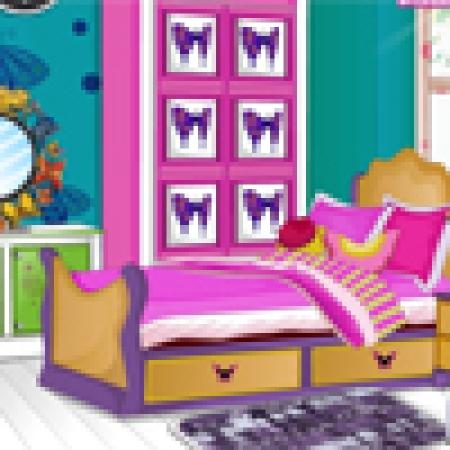 دانلود  بازی دکوراسیون اتاق کودک - بازی آنلاین