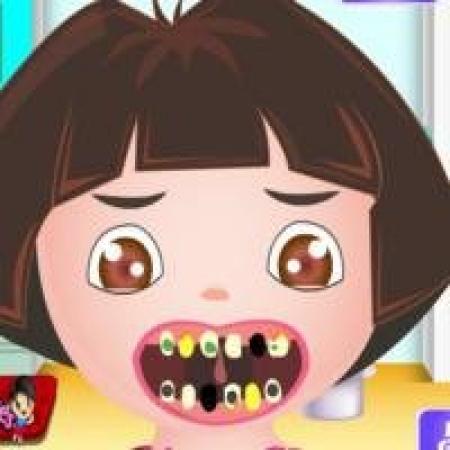دانلود  بازی دخترانه دندان پزشک دورا - بازی آنلاین