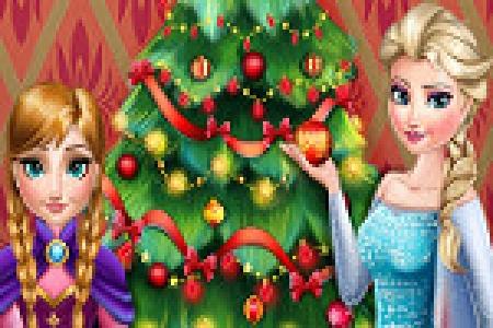 دانلود  بازی دخترانه درخت کریسمس - بازی آنلاین