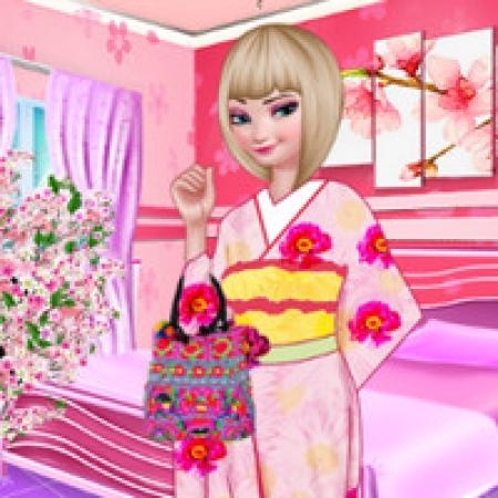 دانلود  بازی دخترانه السا دختر چینی - بازی آنلاین