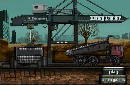 بازی سرگرم کننده وفکری کامیون بارسنگین جدیدی ومتفاوت Heavy Loader