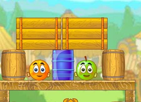 بازی آنلاین فکری و سرگرم کننده نجات پرتقال ها 3