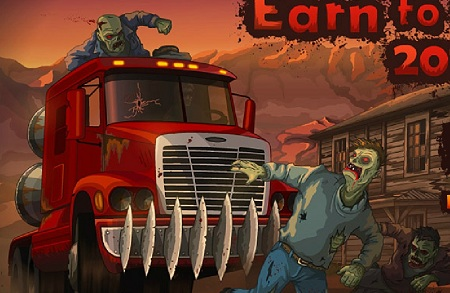 بازی آنلاین حمله به دنیای مردگان - کسب درآمد از مردگان 3 Earn to Die
