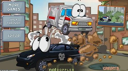 بازی آنلاین مرحله ای رانندگی ماشین های شهری
