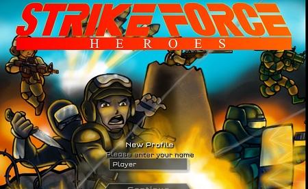 بازی اکشن آنلاین  قهرامانان نیروی ضربت STRIKE FORCE HEROES