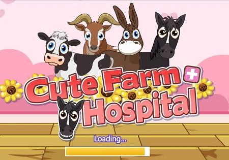 بازی آنلاین بیمارستان حیوانات -Cute Farm Hospital