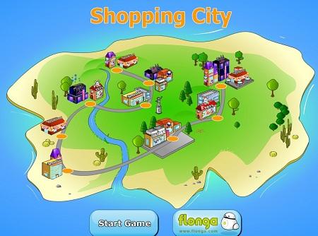بازی آنلاین شهرسازی- شهر خرید Shopping City
