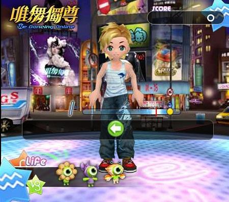 بازی ژاپنی رقص آنلاین we dance online