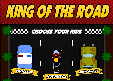 بازی آنلاین سلطان جاده ها king of the road