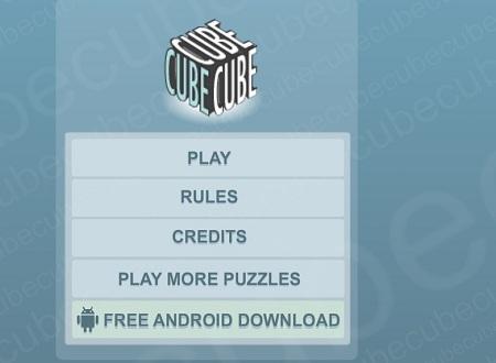 بازی هوش آنلاین مکعب Cube
